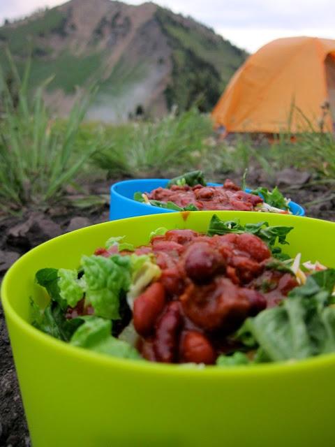 taco in bag camping