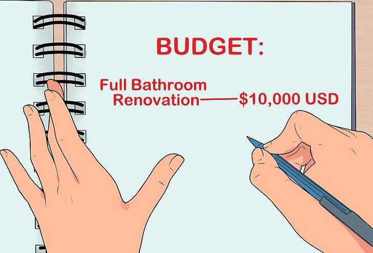 bathroom remodel plan