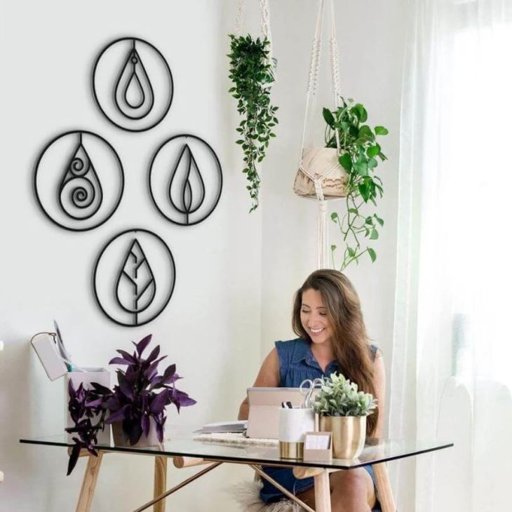 Four Elements Art Wall Decoration
