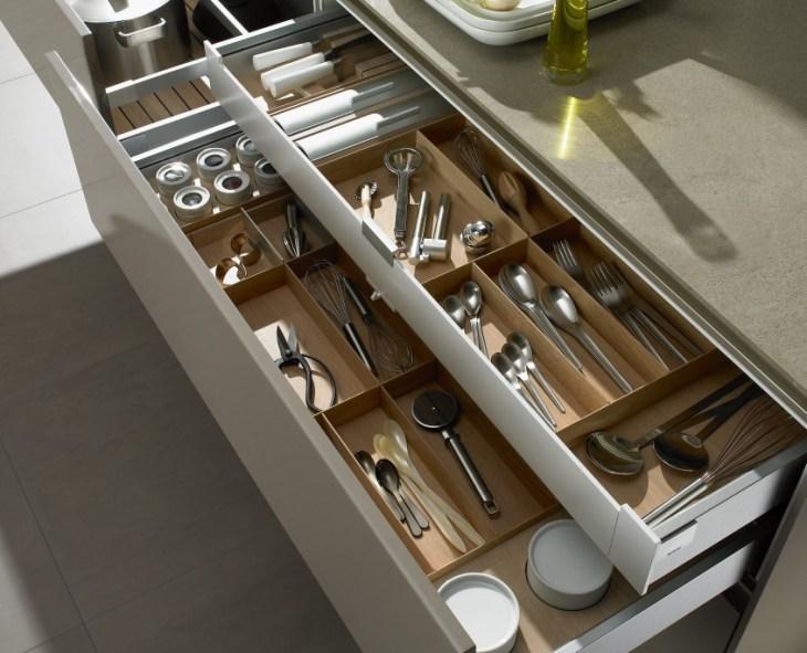 Drawer Divide Organizer for Kitchen