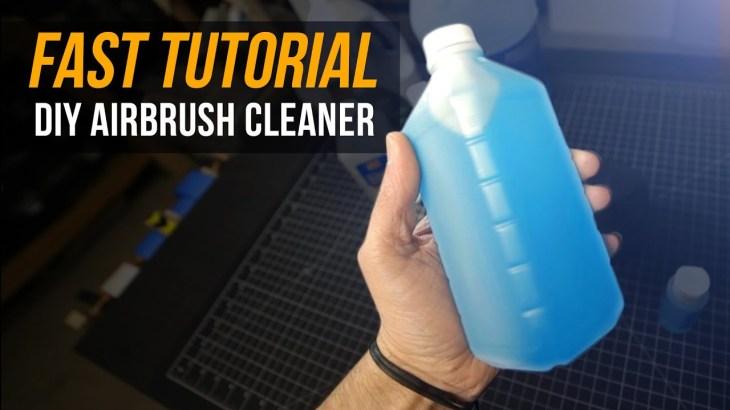 DIY airbrush cleaner