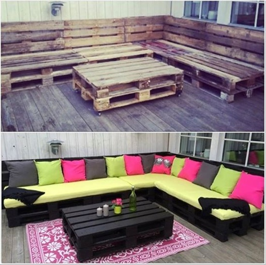 How to Make Furniture with Pallets