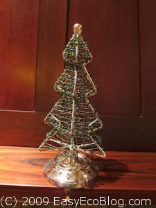 small Christmas tree, metal