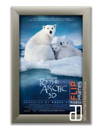 Flip up Poster Frame - To the Arctic 3d IMAX