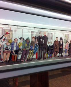 Easy Flip Frame Subway Ad