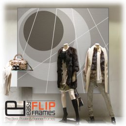 Frameless Banner Frame, Sleek Picture Frame