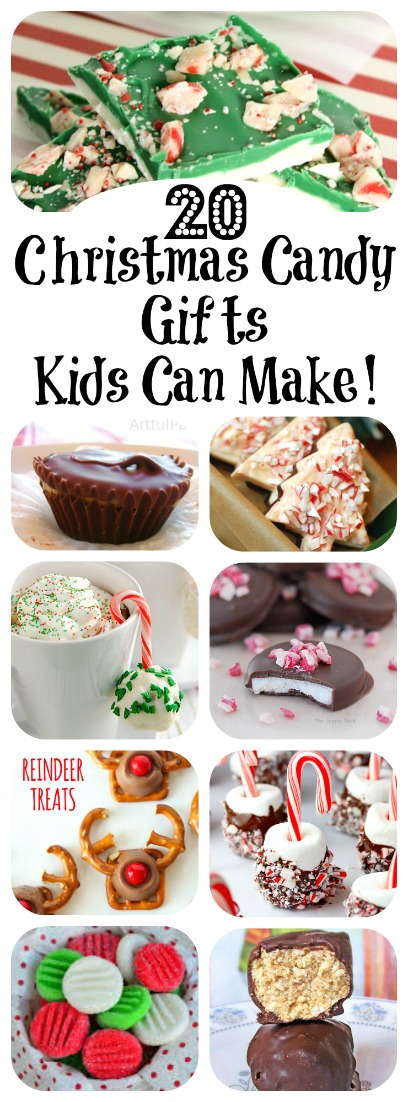 20 Christmas Candy Gifts Kids Can Make! | Letters from Santa Blog