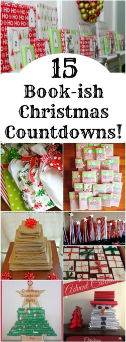 15 Book-ish Christmas Countdowns!