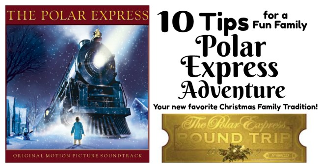 Ready for an amazing new Family Christmas Tradition? The kids will flip over this one!!    10 Tips for A Fun Family Polar Express Adventure via Letters from Santa Holiday Blog