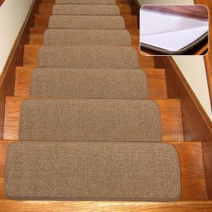 Top 10 Best Stair Treads In 2020 Reviews Buyer S Guide | 36 Inch Carpet Stair Treads | Attachable Indoor | Walmart | Basement Stairs | Vanilla Cream | Pet Friendly