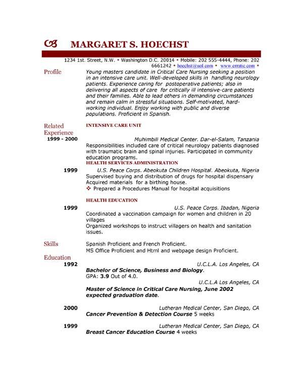 Usable Resume Templates resume free resume template microsoft – Usable Resume Templates