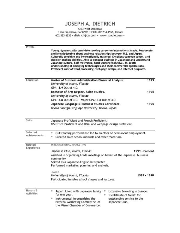 Write Resume Templates Free. cv template basic résumé template cv ...