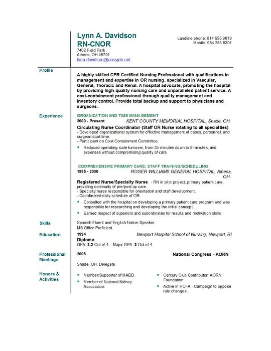 Nurse Resume Skills Sample. Assistant Resume Sample Example Of