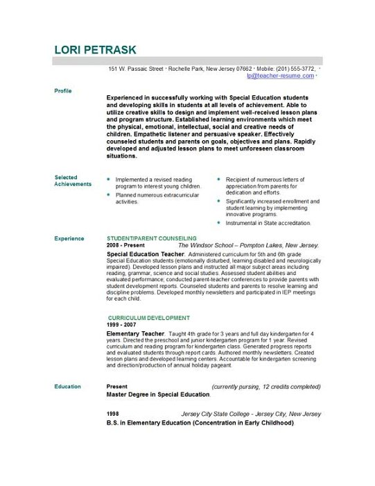 resume format for teachers download abki