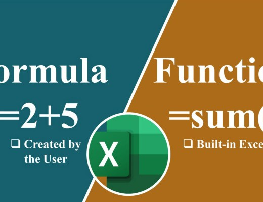 formulas and functions in excel