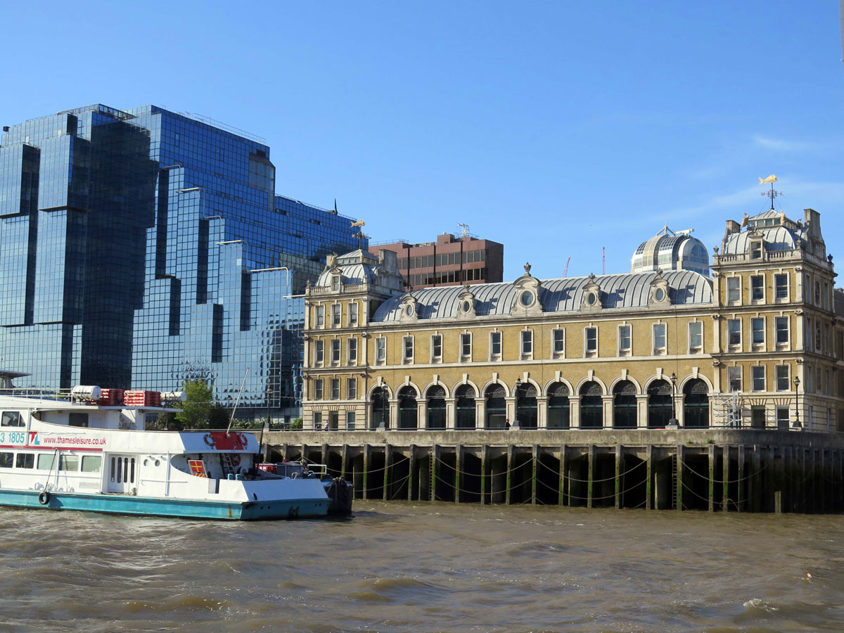 The old Billingsgate Fish Market