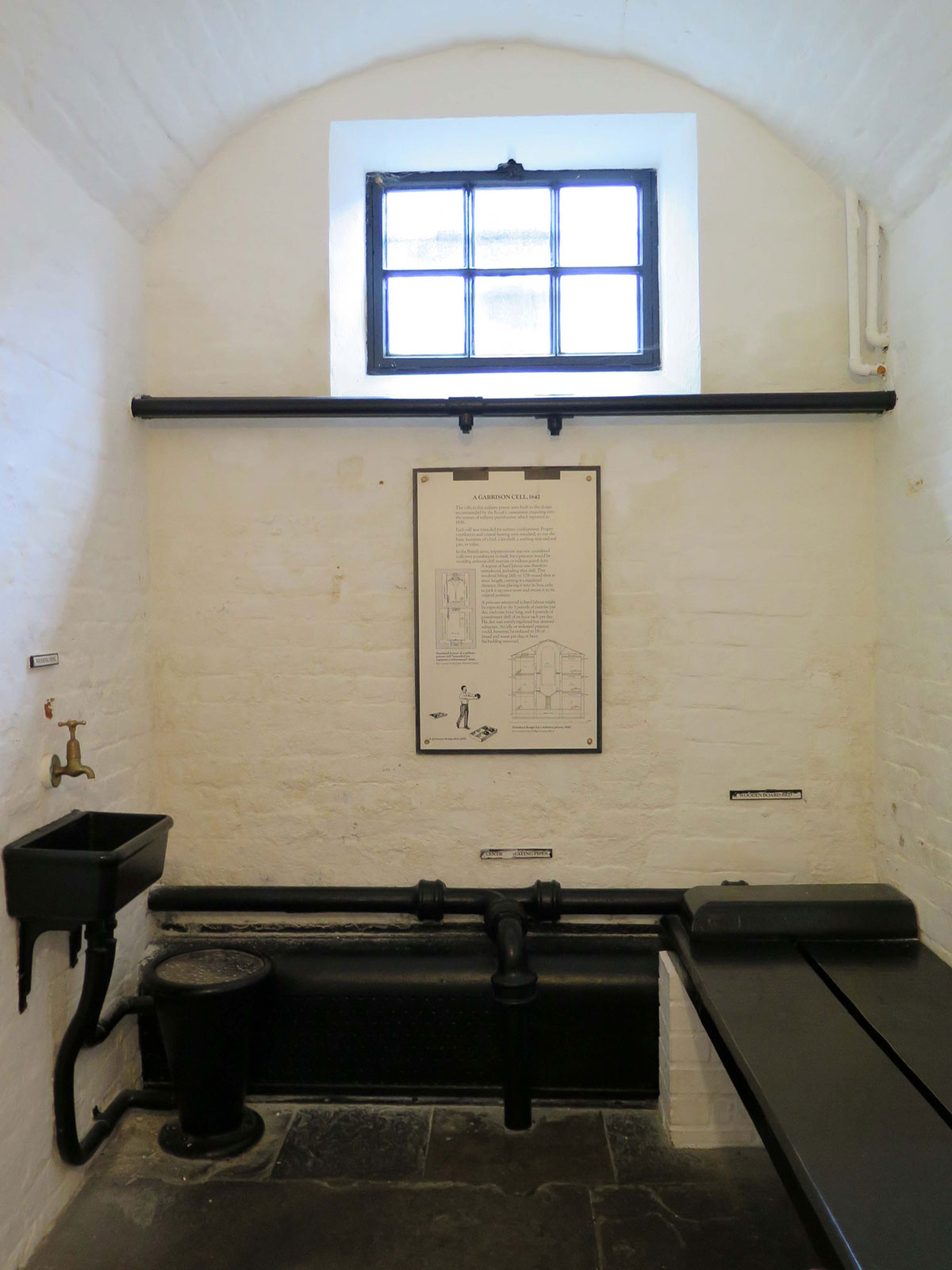 A Cell in the Military Prison