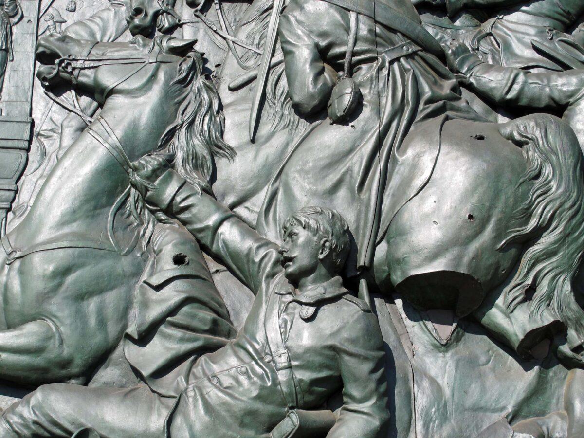 Bronze Bas-Relief
