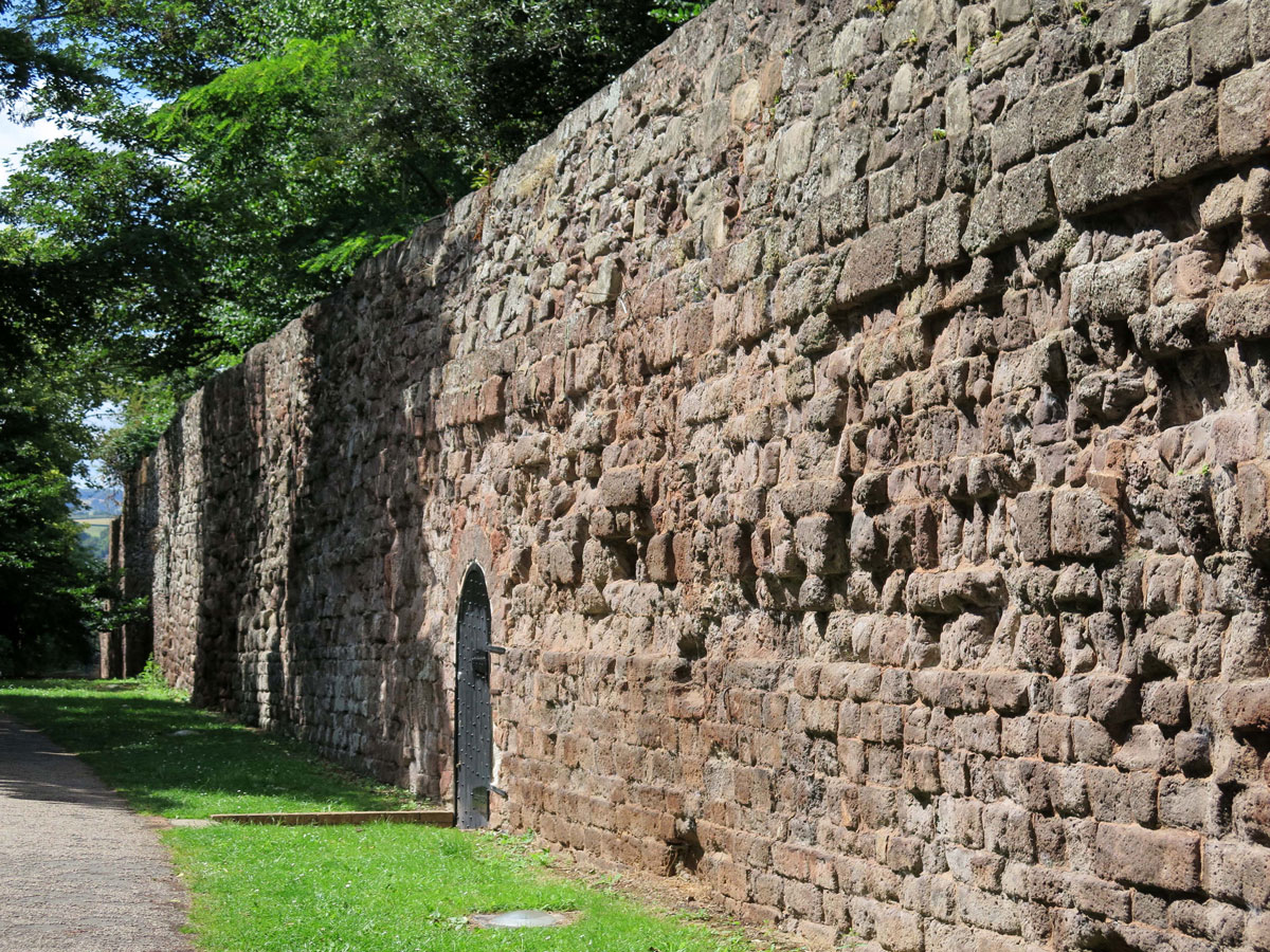 The City Wall at Little Southernhay Lane