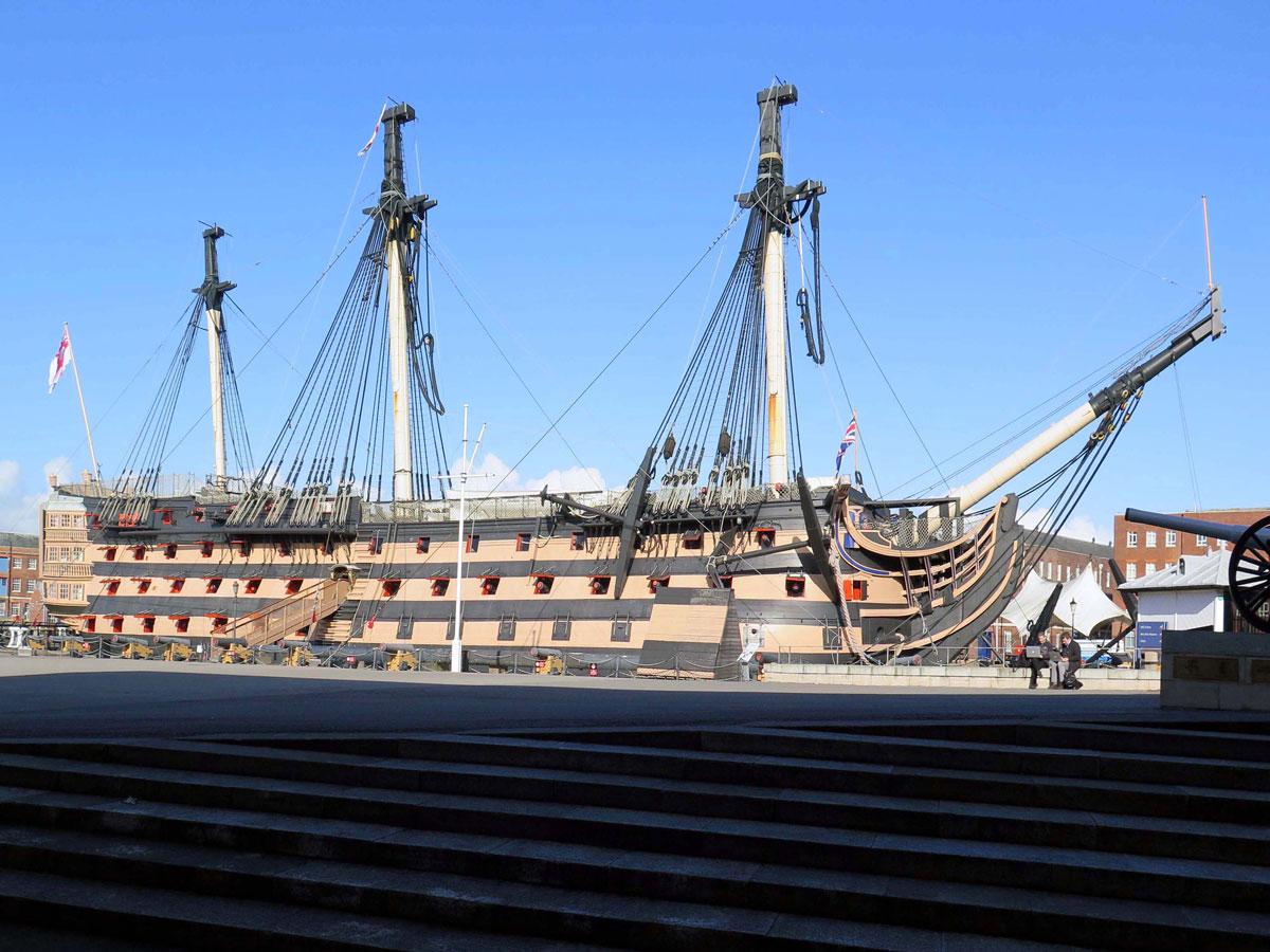 HMS Victory, Portsmouth Dockyard