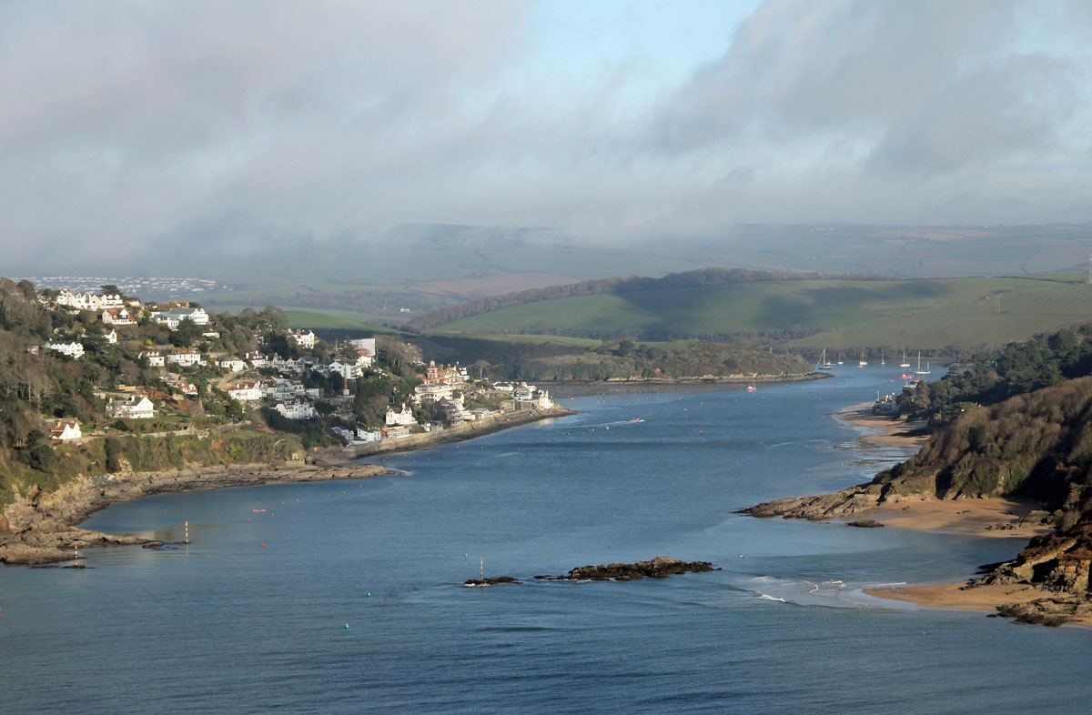 The Kingsbridge Estuary at Salcombe