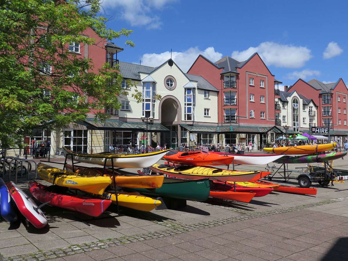 Canoes at the Canal Basin