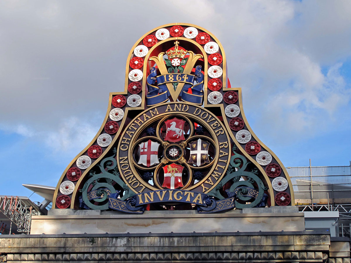 The London, Chatham and Dover Railway Insignia