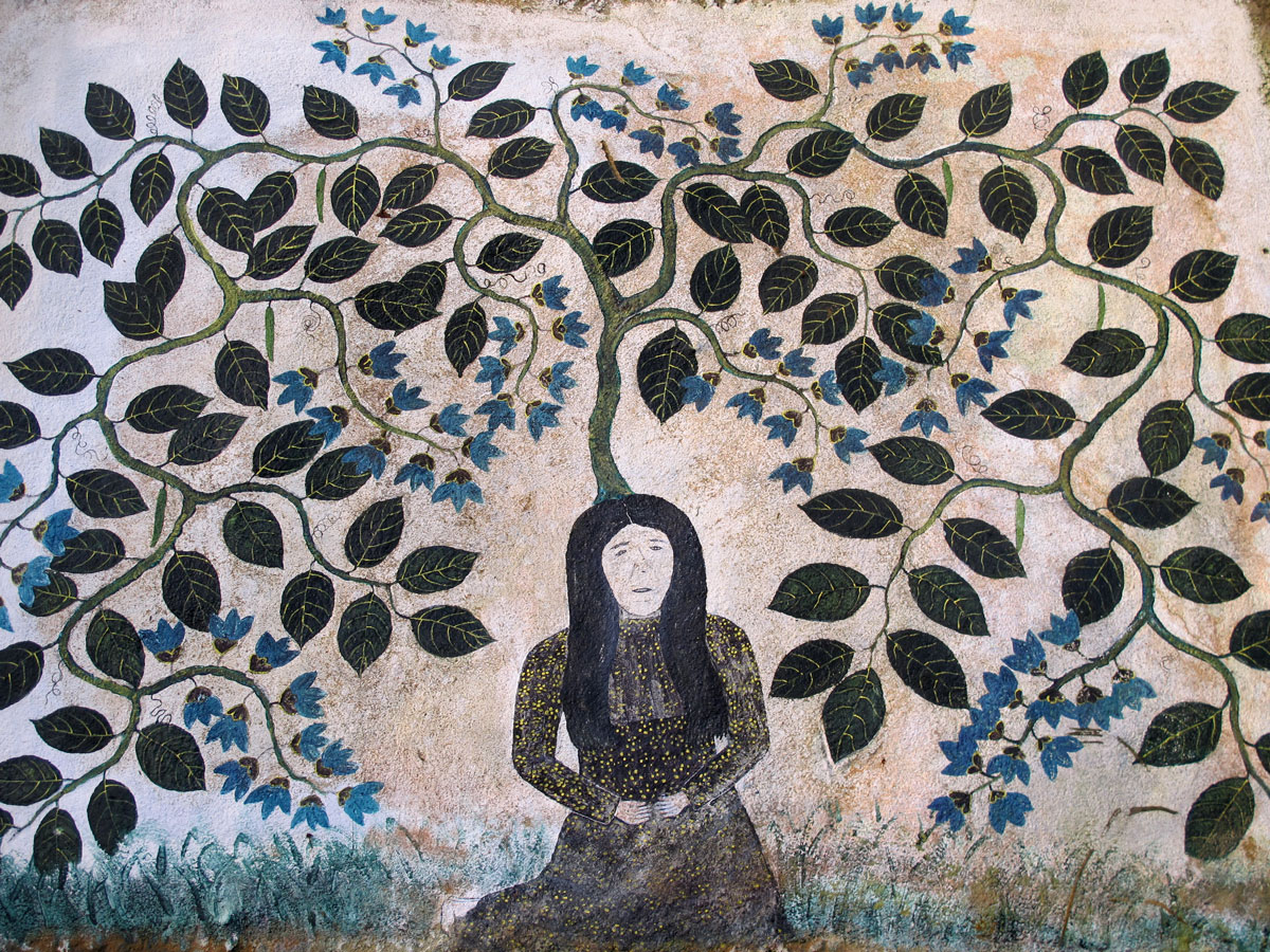 Shamanic Art - The Spirit Woman pf Ajo Sacha
