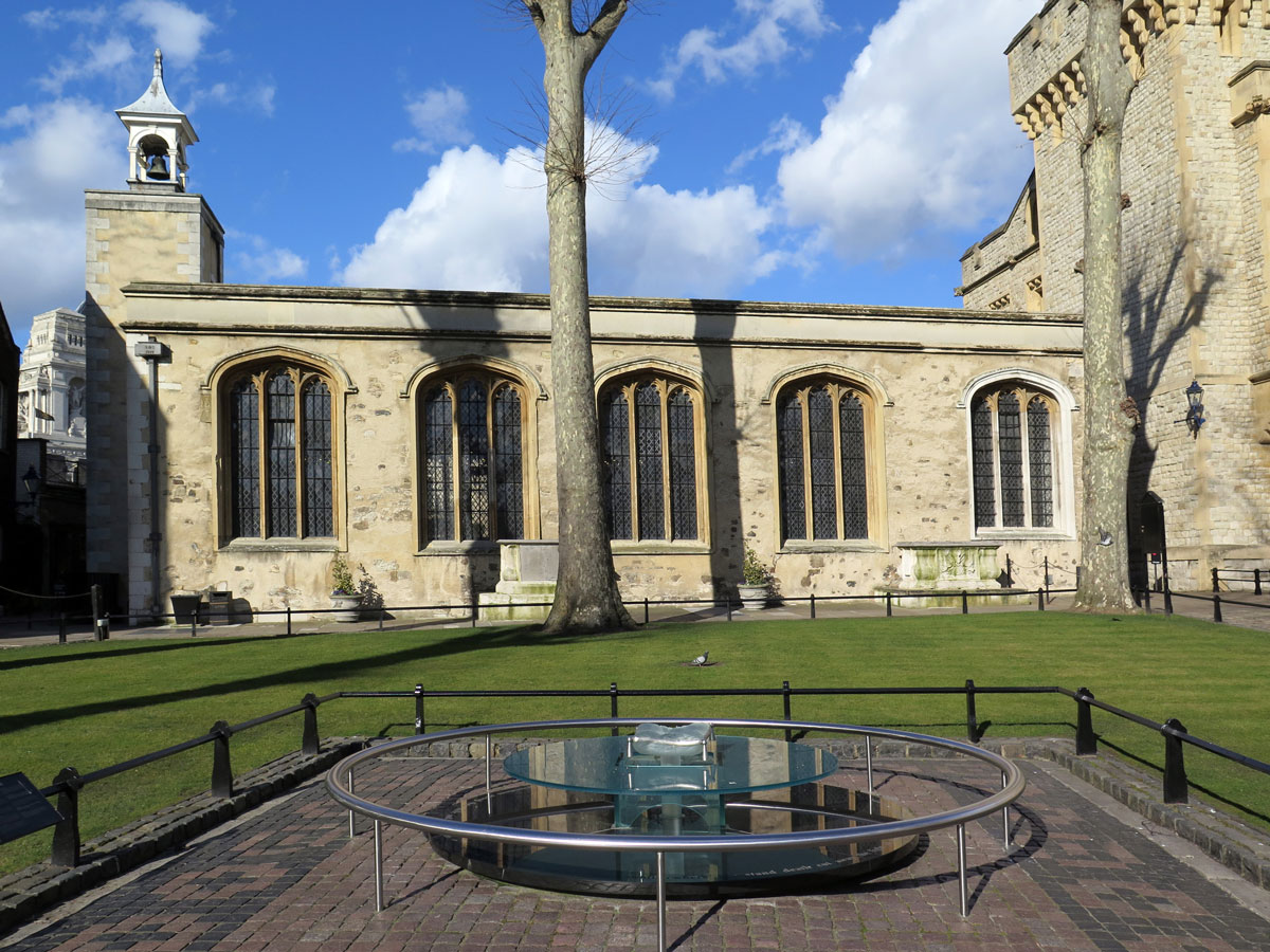 St Peter ad Vincula and the site of The Scaffold