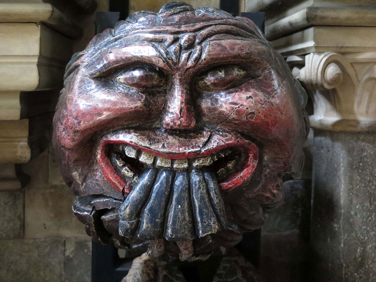 Medieval roof boss