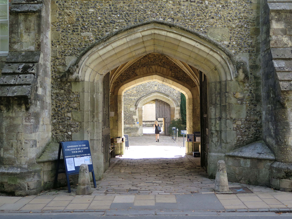 Entrance to Winchester College