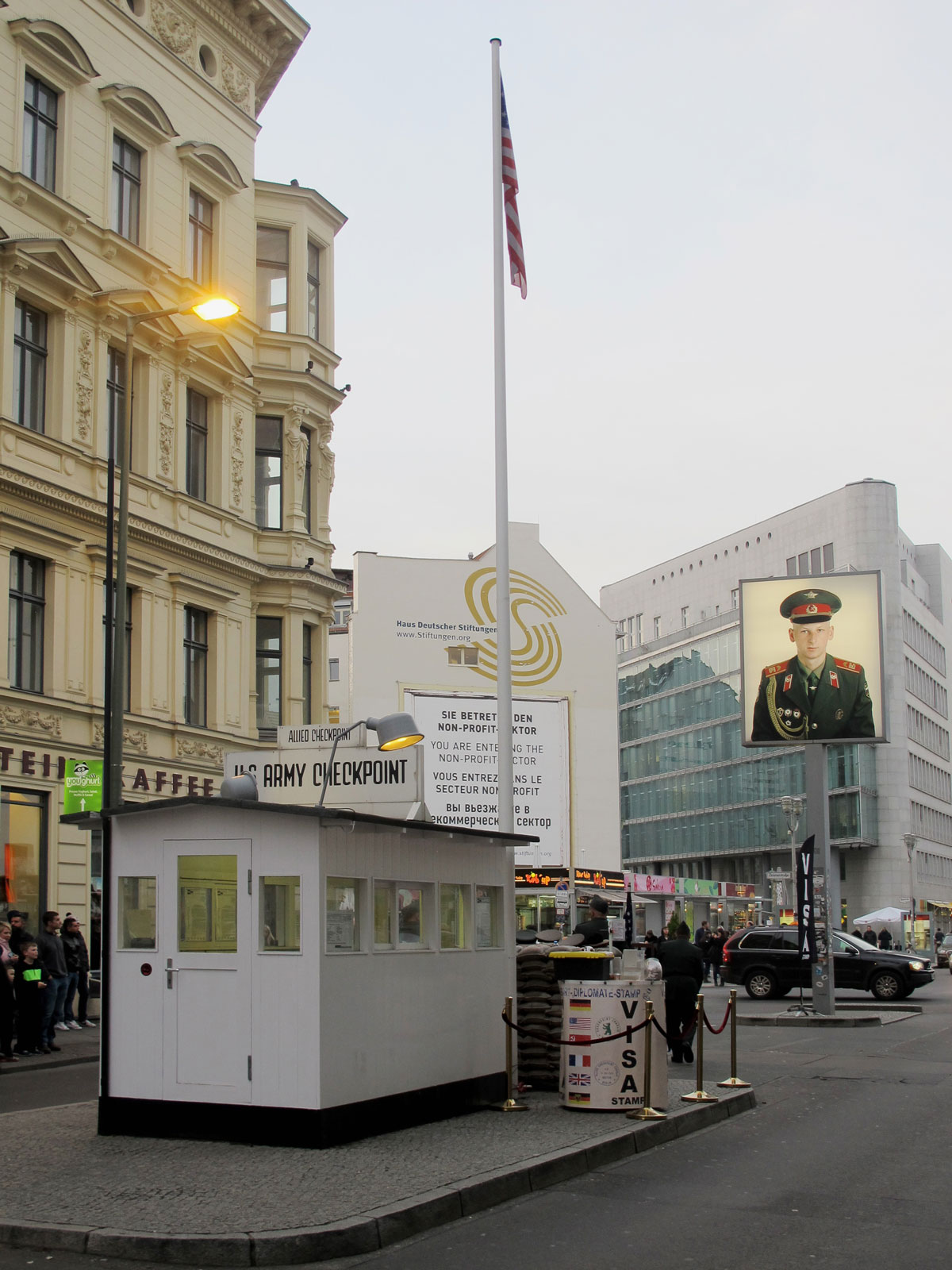 Checkpoint Charlie today
