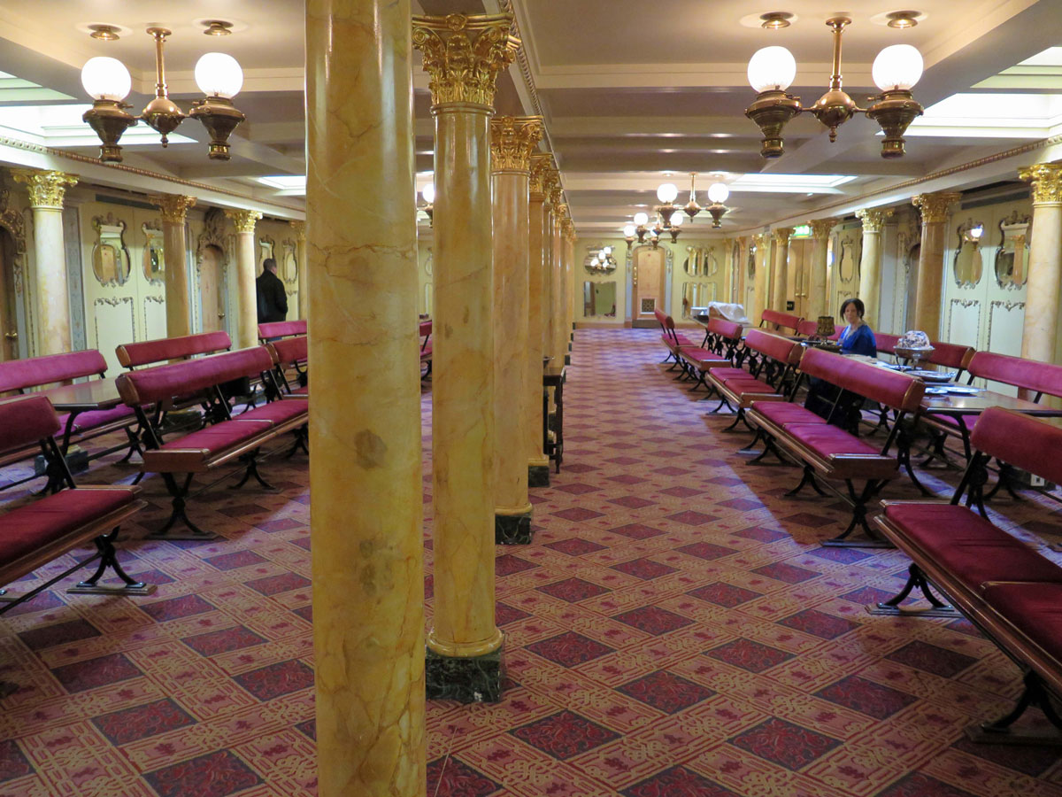 The First Class Dining Saloon