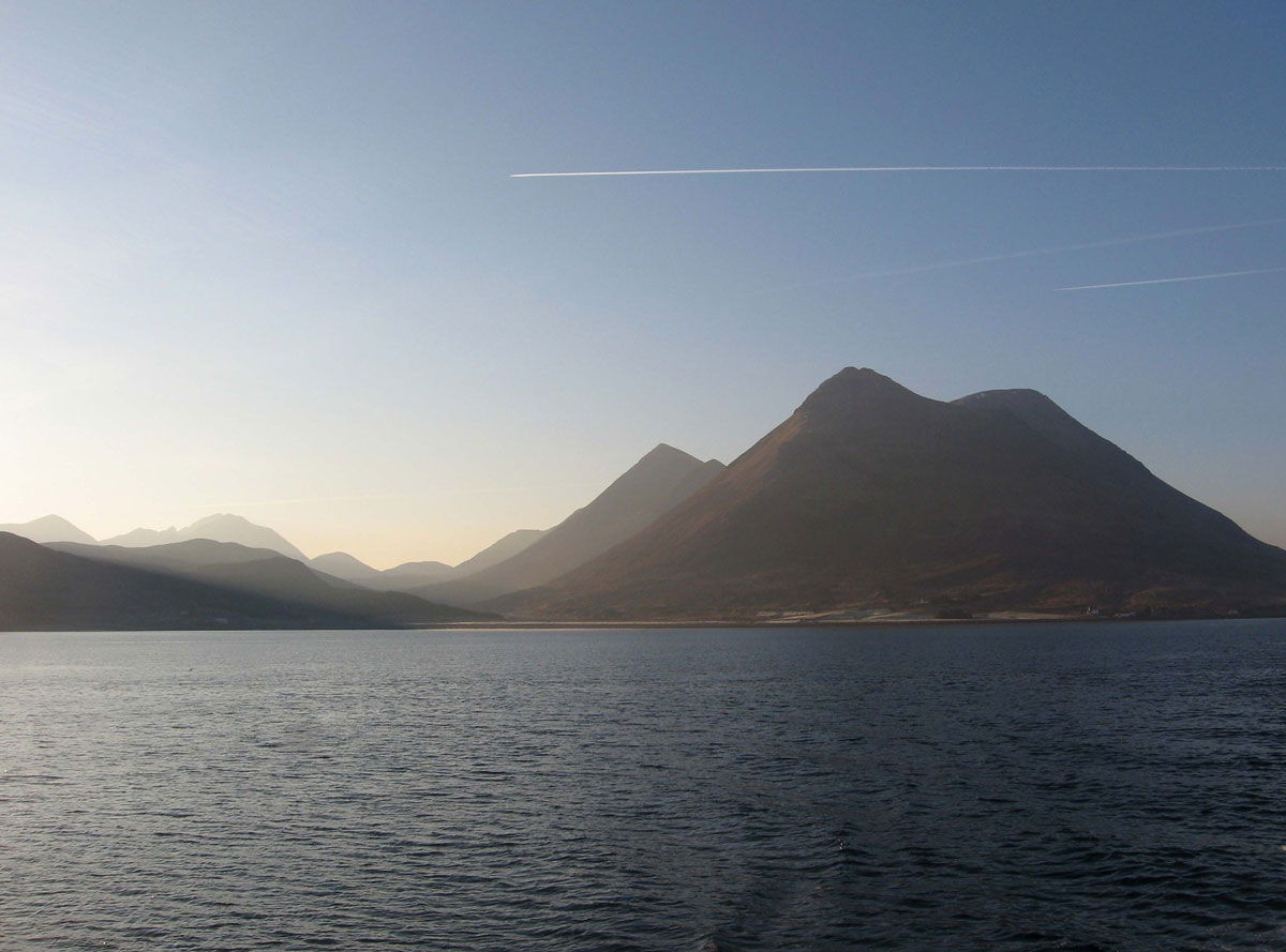 The Cuillins from Raasay