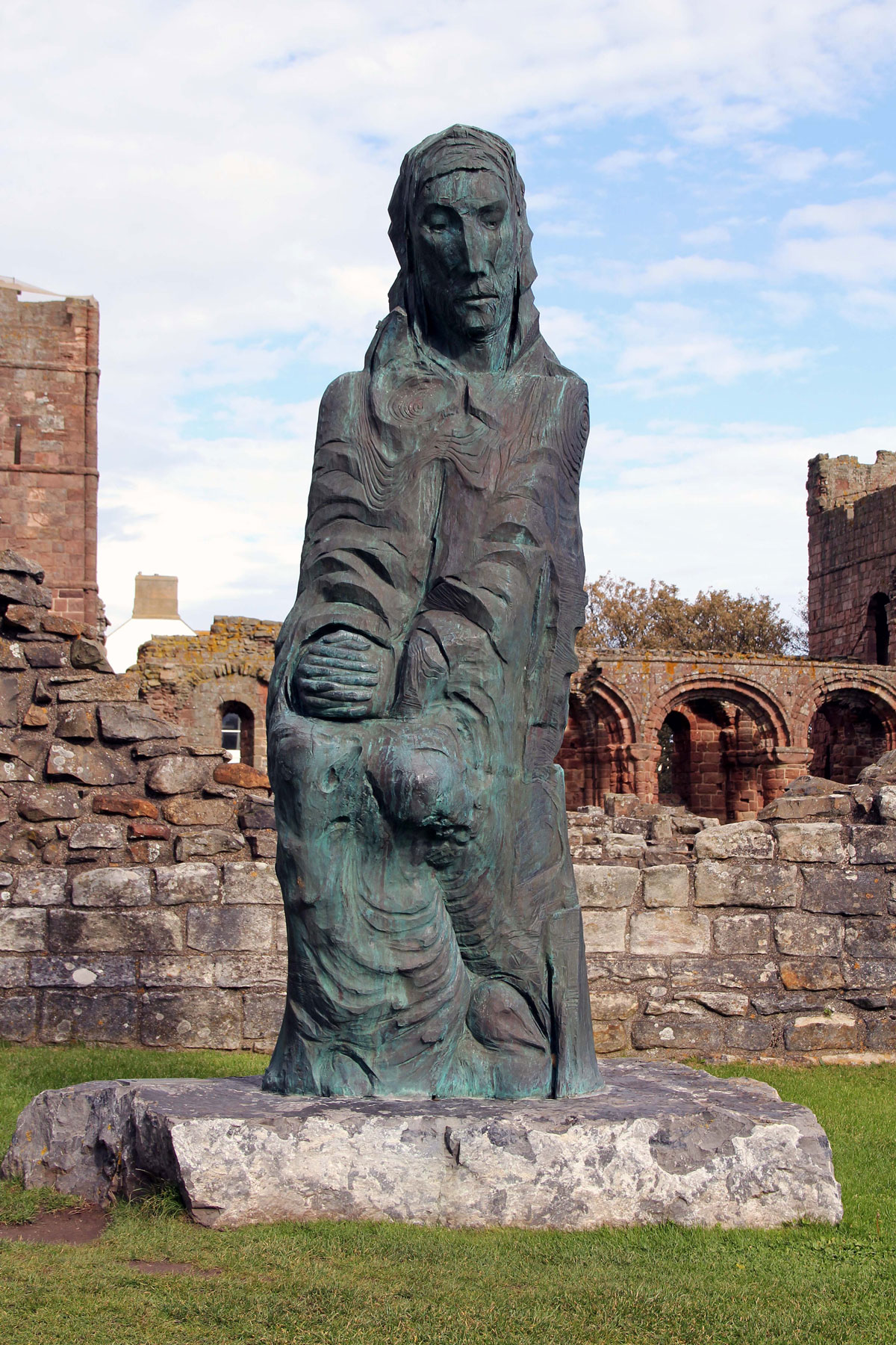 St. Cuthbert at Lindisfarne