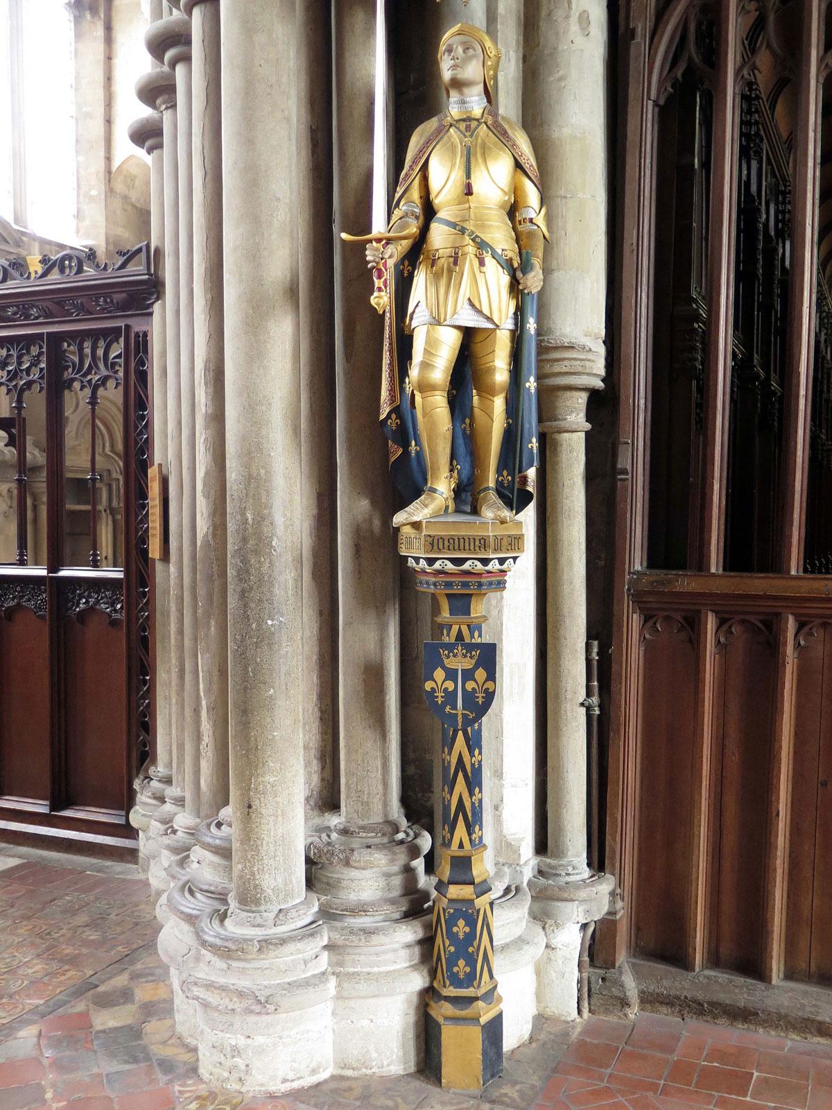 Joan of Arc Statue