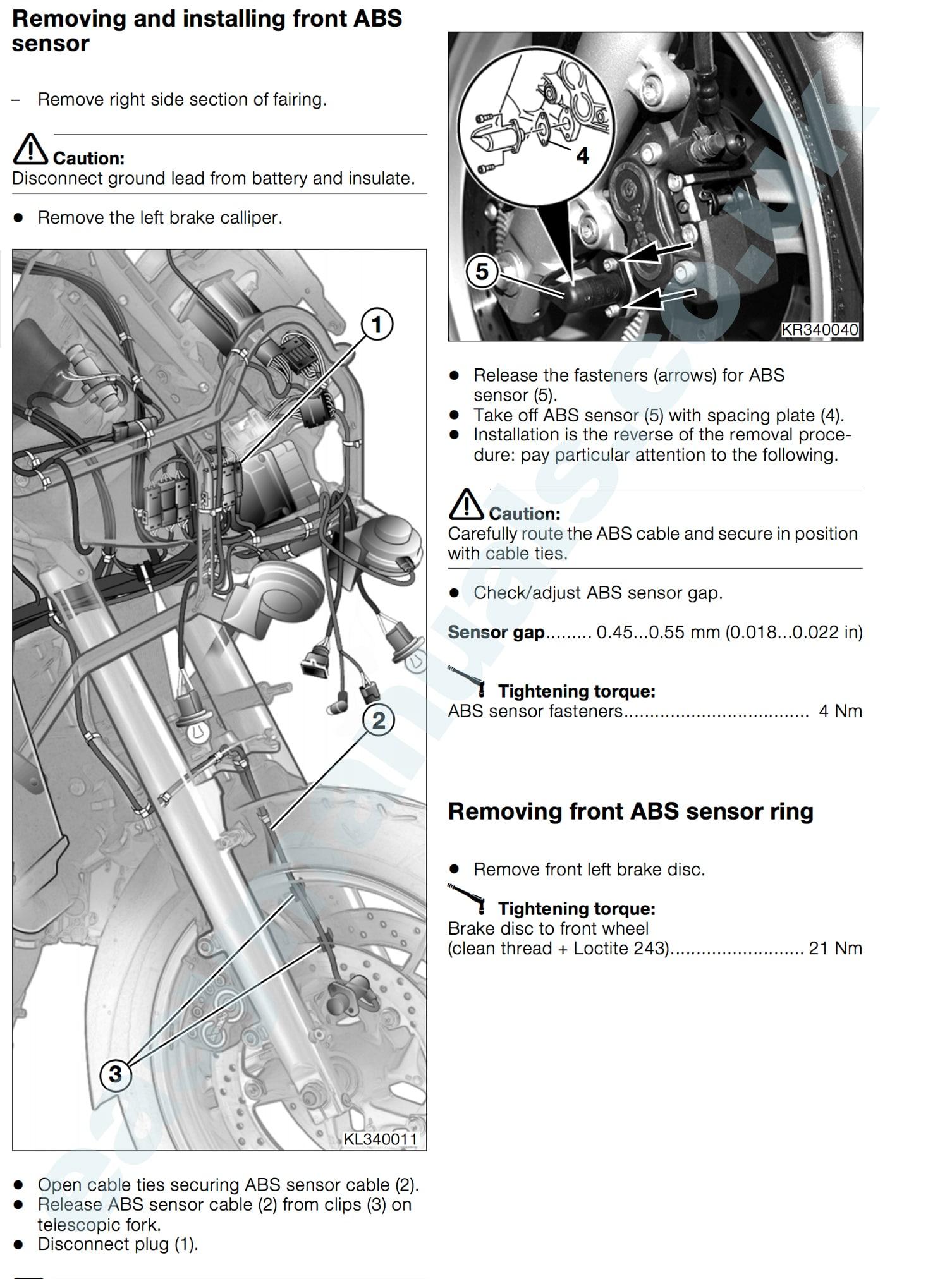 Bmw K Lt Motorbike Workshop Service Amp Repair