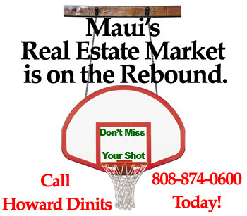 maui real estate market is on the rebound