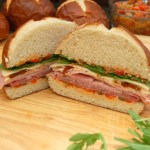 Now That's A Sandwich!  Turkey, Ham, Salami and Provalone