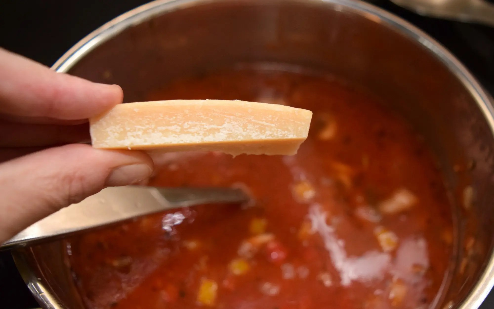 Pizza Soup!