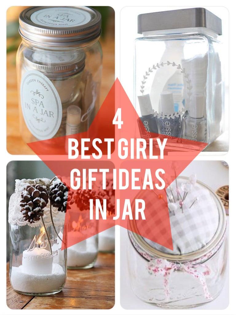 4 Best Girly Gift Ideas in a jar 768x1024 Best Christmas Gift Ideas