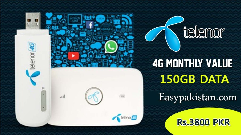 Telenor 4G Monthly Value Package
