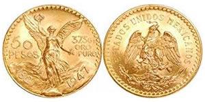 mexico 50 pesos gold
