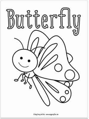 bug coloring page # 4