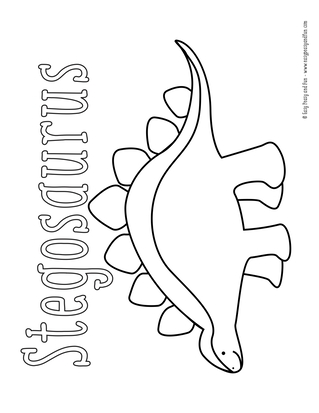 free printable dinosaur coloring pages # 23