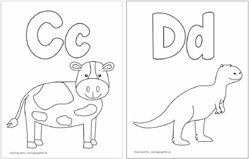 letters coloring pages # 5
