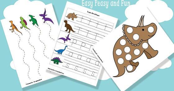 Dinosaur Printables For Preschool Easy Peasy And Fun