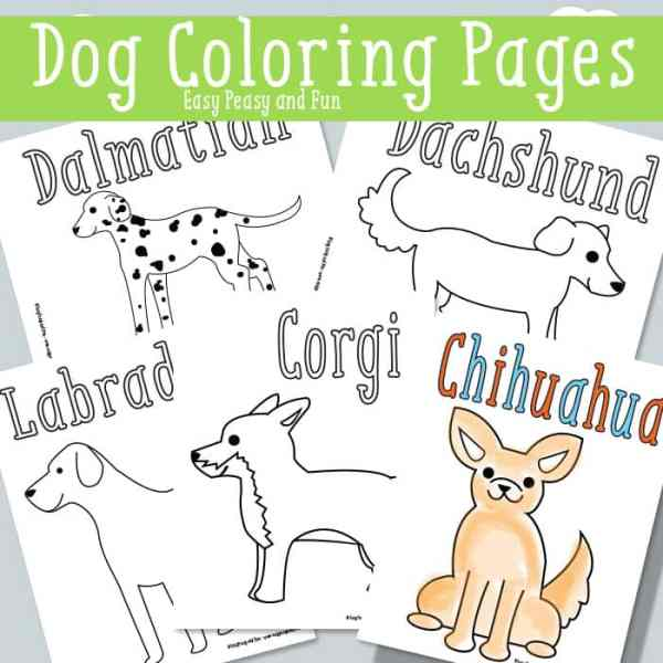 printable dog coloring pages # 13