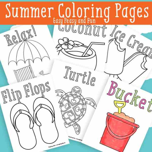 summer coloring pages printable # 4