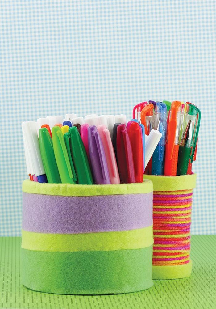 DIY Pencil Holder Back To School Crafts Easy Peasy And Fun